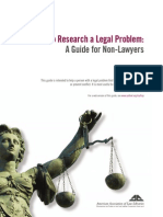 How to Research Legal Problem
