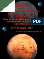 MARTE en agosto 2007 pps E G