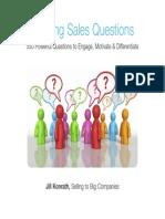 Winning Sales Questions