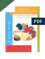 ESTUDIO Habitos  Alimentarios