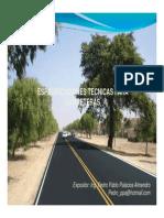 Especificaciones Técnicas Para Carreteras1