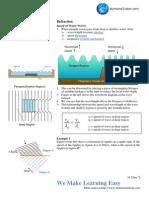 04 Phenomena of Waves 2 - Refraction of Waves (Asnwer)