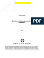 ENG0039SP Electrical Installation Specifications (Schedule F) Rev[1]. 5.0