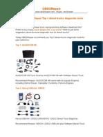 China OBD2Repair Top 5 Diesel Trucks Diagnostic Tools