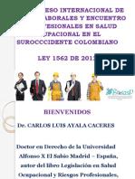 Actualizacion Riesgos Laborales Sep2013 Carlos Luis Ayala