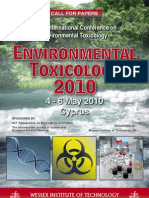 Environmental Toxicology 2010