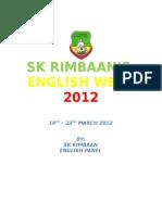 English Week Documentation