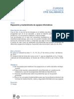 MANTENIMIENTO Y REPARACIÓN DE EQUIPOS INFORMÁTICOS