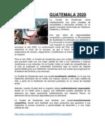 Guatemala 2020