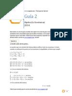 Guia 2 de Algebra