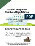 Gestión Integral de Residuos Hospitalarios