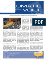 Diplomatic Voice Vol 1 2014