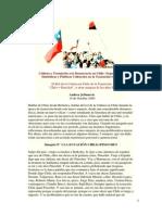 Cultura y Transición a La Democracia en Chile