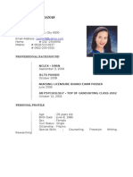 Bb g's Resume With Photo