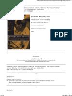 Buñuel and Mexico the Crisis of National Cinema (Ernesto R. Acevedo-Muñoz, 2003)