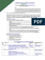 Silabus Mecanismos Unam Ago-nov 2014 4-6 Hrs