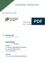 Curso Ingenieria de Sistemas UTP - Resumen Final-2