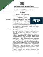 Perda Kabupaten Musi Rawas Nomor 9 Tahun 2008 Tentang Sumber Pendapatan Desa