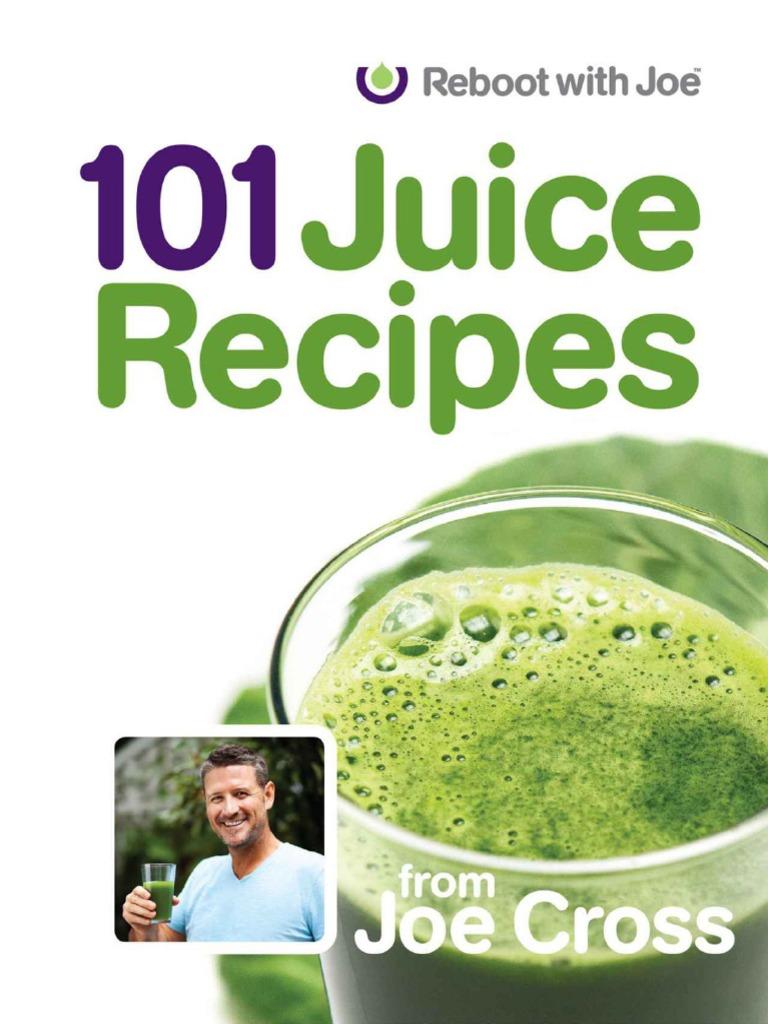 101 Juice Recipes - Cross, Joe   Nutrition Facts Label   Juice