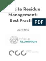 Bauxite Residue Management - Best Practice 1(1)
