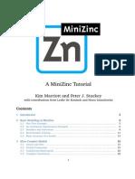 Minizinc Tutorial