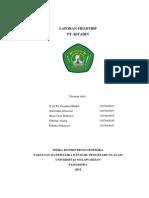 Laporan Fieldtrip PT. Kitadin - Fisika Konsentrasi Geofisika