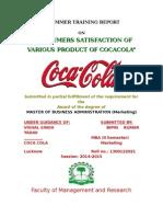 Coca Cola Consumer