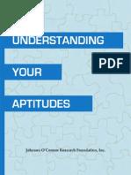 Understanding Your Aptitudes