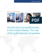 MGI Growth and Competitiveness US-role of Multinational Companies Full Report