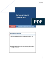 01 Introduction to Accounting Student Version