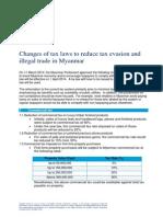 FINAL Tax Alert April 2014 Myanmar