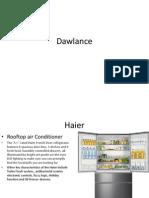 Dawlance Report