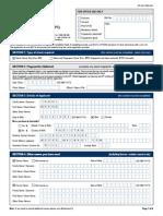 Npc Offline Form