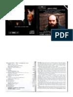 Arvo Part - Symphonies 1-3, Etc - Booklet