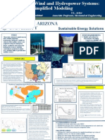 Integration of Wind and Hydropower Systems Simplified Modeling