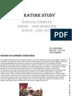 judicial complex-literature study