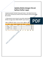 View Insert Update Deleted Dengan Vb,Net Dan MySQL