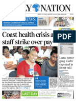 Daily Nation August 12th 2014