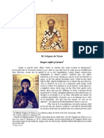 Sf Grigorie de Nyssa Despre suflet și înviere