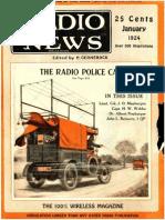 Radio News 1924 Jan