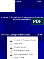 Nota Kelas Dr Chapter 5- Tunnel and Underground