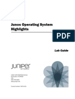 Junos Operating System Highlights(SSFJUN01Ia_LabGuide)