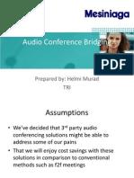 Audio Conference Bridging (2)