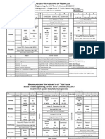 Revised Class Routine,Level-1 Term-1, (2012-13)