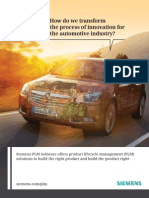 Automotive Industry Brochure