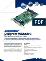 Digigram VX222v2 brochure