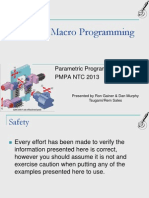 Cnc Macro Programming Workshop