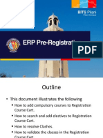 ERP PreRegistration Manual