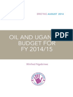 Oil and Uganda's Budget FY2014/15