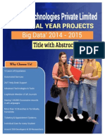 IEEE2014 BigData Abstract